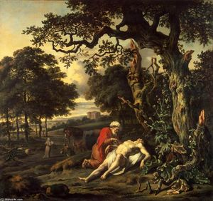 Jan Jansz Wijnants - Parable of the Good Samaritan