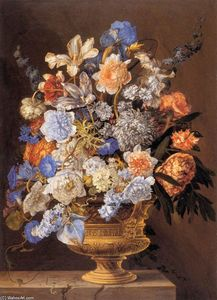 Jacques Ii Bailly - Bouquet of Flowers
