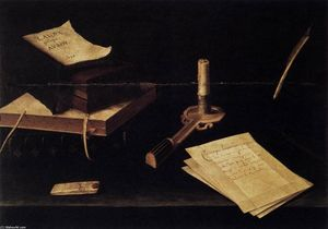 Lubin Baugin - Still-Life with Candle