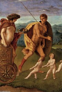 Giovanni Bellini - Four Allegories: Lust (or Perseverance)