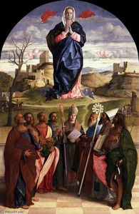 Giovanni Bellini - Virgin in Glory with Saints