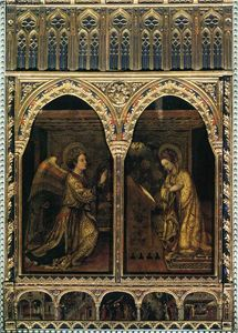 Jacopo Bellini - Annunciation