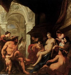 Antonio Bellucci - Hercules in the Palace of Omphale