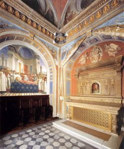 Benedetto Da Maiano - Interior of the Chapel St Fina