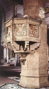 Benedetto Da Maiano - Pulpit