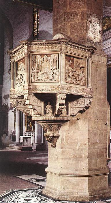 Pulpit, Marble by Benedetto Da Maiano (1446-1497, Italy)