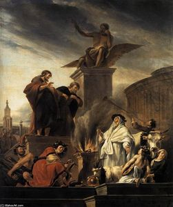 Nicolaes Berchem - Paul and Barnabas at Lystra