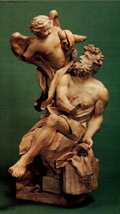 and the angel terracotta by gian lorenzo bernini  habakkuk and the angel terracotta by gian lorenzo bernini 1598 1680