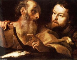 Gian Lorenzo Bernini - Saint Andrew and Saint Thomas