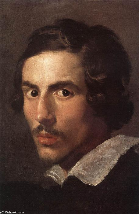 Self-Portrait as a Young Man, Oil On Canvas by Gian Lorenzo Bernini (1598-1680, Italy)