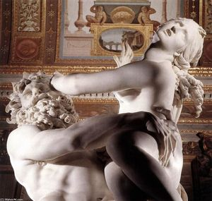Gian Lorenzo Bernini - The Rape of Proserpina (detail)