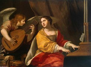 Jacques Blanchard - St Cecilia