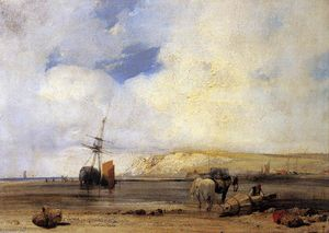 Richard Parkes Bonington - On the Coast of Picardy