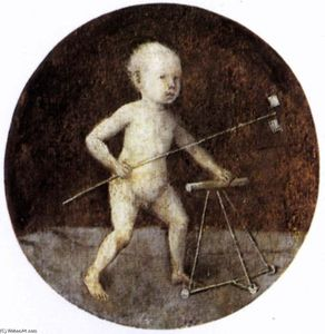 Hieronymus Bosch - Christ Child with a Walking Frame