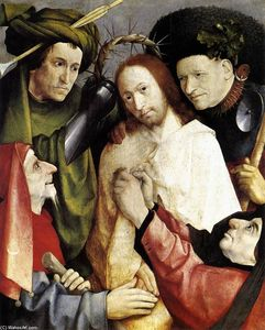 Hieronymus Bosch - Christ Mocked (Crowning with Thorns)