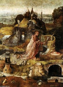 Hieronymus Bosch - Hermit Saints Triptych (central panel)