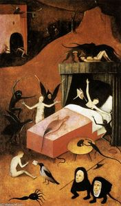 Hieronymus Bosch - Last Judgment (fragment of Hell)