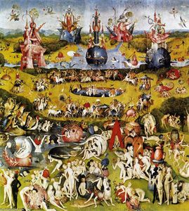 Hieronymus Bosch - Triptych of Garden of Earthly Delights (central panel)