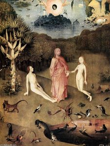 Hieronymus Bosch - Triptych of Garden of Earthly Delights (detail) (33)