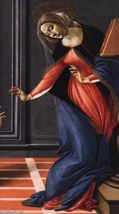 Sandro Botticelli - Cestello Annunciation (detail)