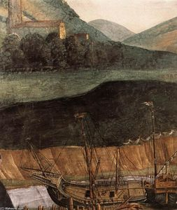 Sandro Botticelli - The Punishment of Korah and the Stoning of Moses and Aaron (detail) (12)