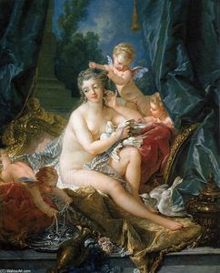 François Boucher - The Toilet of Venus