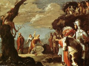 Leonaert Bramer - The Sacrifice of Iphigenia