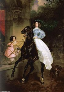 Karl Pavlovich Bryullov - The Rider