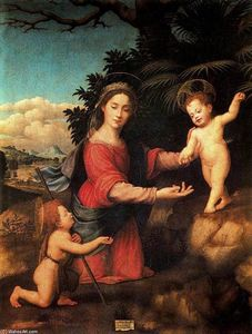 Giuliano Bugiardini - Virgin and Child with the Infant St John the Baptist