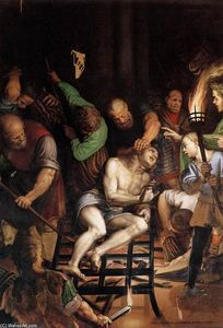 Antonio Campi - The Martyrdom of St Lawrence