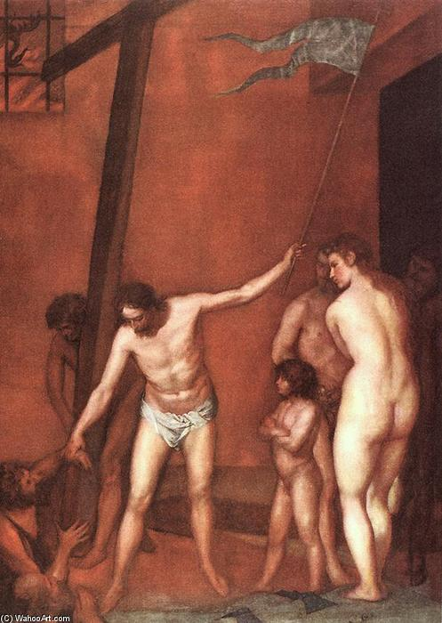 Descent into Limbo, 1640 by Alonso Cano (1601-1667, Spain) | Museum Art Reproductions Alonso Cano | WahooArt.com