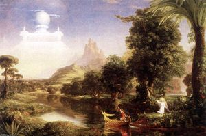 Thomas Cole - The Ages of Life: Youth