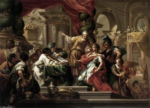 Sebastiano Conca - Alexander the Great in the Temple of Jerusalem