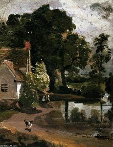 John Constable - Willy Lot's House
