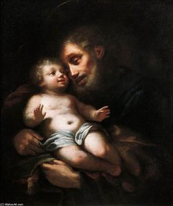 Francesco Conti - St Joseph with the Child