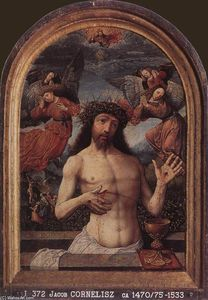 Jacob Cornelisz Van Oostsanen - Man of Sorrows