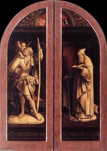 Jacob Cornelisz Van Oostsanen - Sts Christopher and Anthony