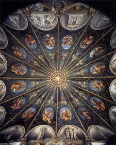 Antonio Allegri Da Correggio - Ceiling decoration