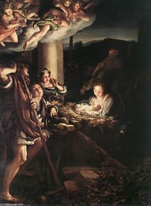 Antonio Allegri Da Correggio - Nativity (Holy Night)
