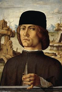Francesco Del Cossa - Portrait of a Man