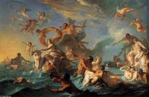 Noel Nicolas Coypel - The Rape of Europa
