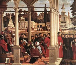 Vittore Carpaccio - Disputation of St Stephen