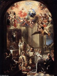 Juan Carreño De Miranda - Mass of St John of Matha