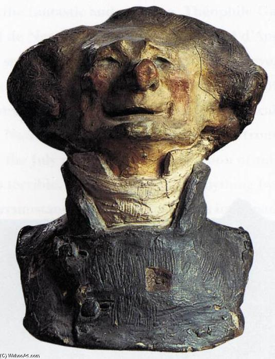 Charles Philipon, 1833 by Honoré Daumier (1808-1879, France)