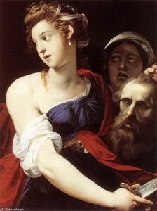 Giuseppe Cesari - Judith with the Head of Holofernes