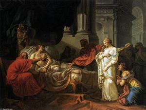 Jacques Louis David - Antiochus and Stratonica