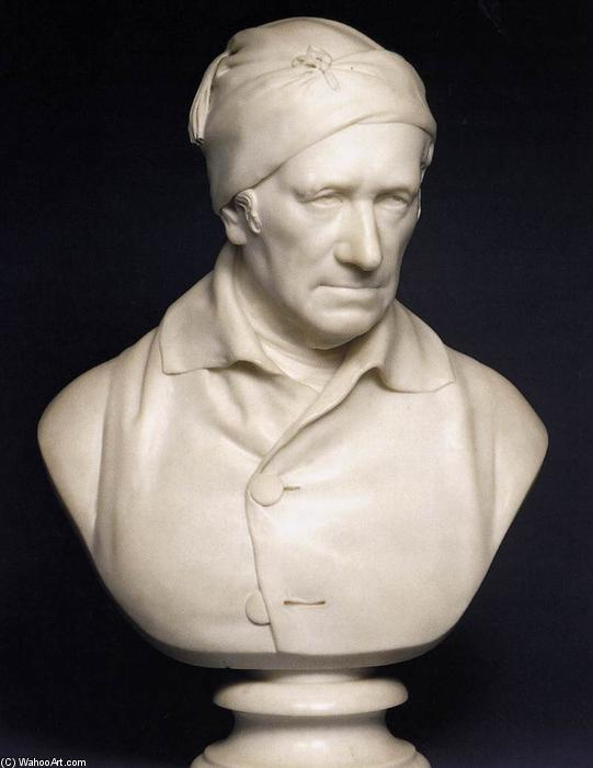 Bust of Revd. John Horne-Tooke, 1811 by Francis Legatt Chantrey (1782-1841, United Kingdom) | Famous Paintings Reproductions | WahooArt.com