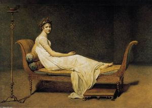 Jacques Louis David - Madame Récamier