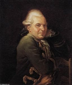 Jacques Louis David - Portrait of François Buron