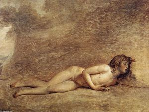 Jacques Louis David - The Death of Bara